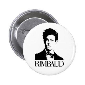 Arthur Rimbaud Pin Redondo De 2 Pulgadas