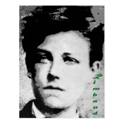 Arthur Rimbaud Postcard