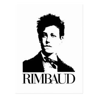 Arthur Rimbaud Tarjeta Postal