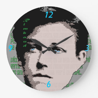 Arthur Rimbaud Wall Clock