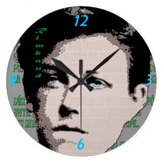 Arthur Rimbaud Wall Clock