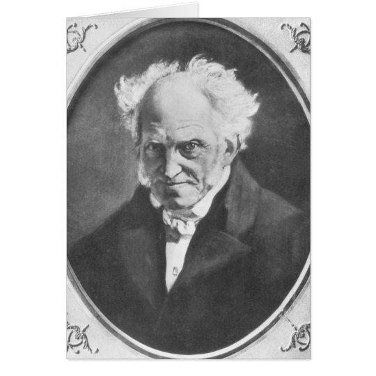Arthur Schopenhauer Card