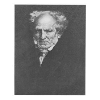 Arthur Schopenhauer Panel Wall Art