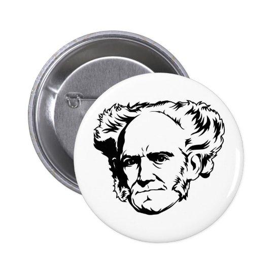 Arthur Schopenhauer Portrait Pinback Button
