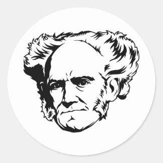 Arthur Schopenhauer Portrait Sticker