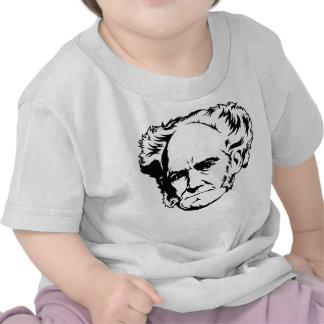 Arthur Schopenhauer Portrait Tee Shirt
