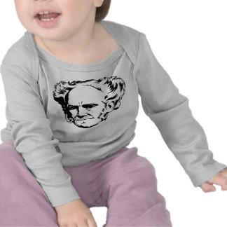 Arthur Schopenhauer Portrait Tees