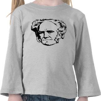 Arthur Schopenhauer Portrait T Shirt
