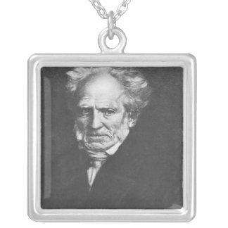 Arthur Schopenhauer Silver Plated Necklace