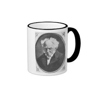 Arthur Schopenhauer Taza A Dos Colores