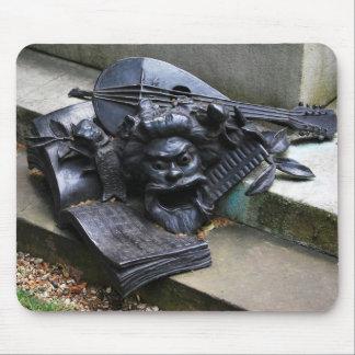 Arthur Sullivan Memorial - Music & Comedy Mouse Pad