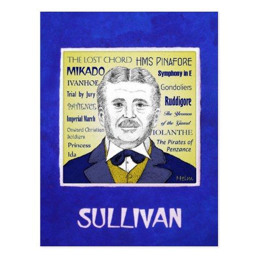 Arthur Sullivan Postcard