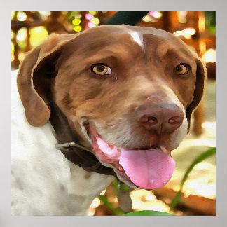 Arthur The Hunting Dog Poster