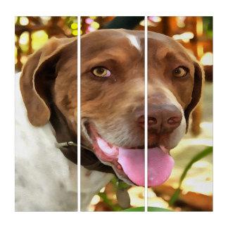 Arthur The Hunting Dog Triptych
