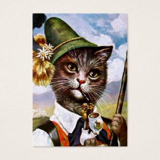 Arthur Thiele - Bavarian Alps Cat Business Card