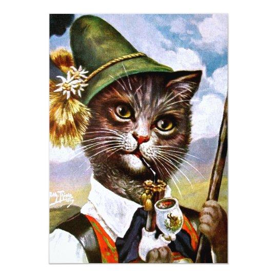Arthur Thiele - Bavarian Alps Cat Card