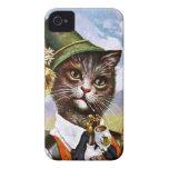 Arthur Thiele - Bavarian Alps Cat iPhone 4 Case-Mate Cases