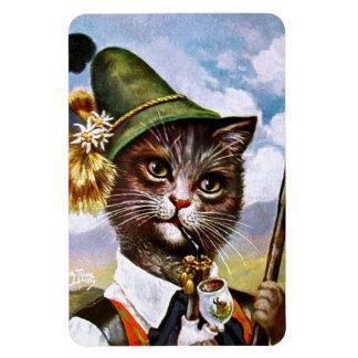Arthur Thiele - Bavarian Alps Cat Rectangular Photo Magnet