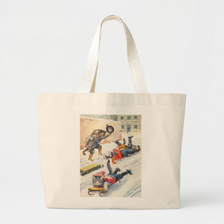 Arthur Thiele - Bobsledding Anthropomorphic Cats Tote Bag