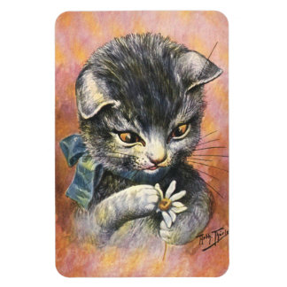 Arthur Thiele - Cat in Love Rectangular Photo Magnet