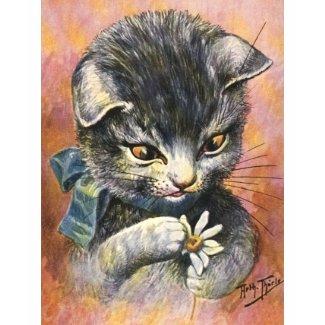 Arthur Thiele: Female Cat in Love