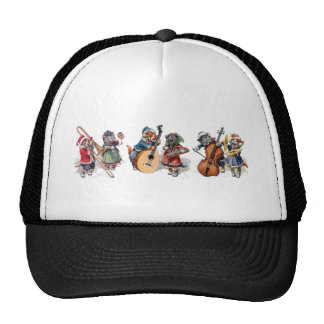 Arthur Thiele - Cat Orchestra in the Snow Trucker Hat