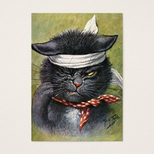 Arthur Thiele - Cat with Toothaches Business Card