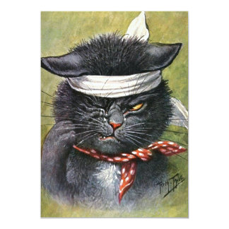Arthur Thiele - Cat with Toothaches Card