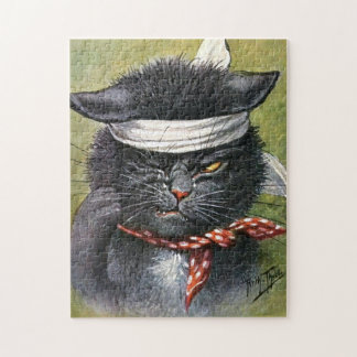 Arthur Thiele - Cat with Toothaches Puzzle