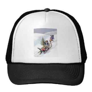 Arthur Thiele - Cats Bring home a Christmas Tree Trucker Hat