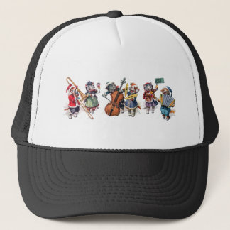 Arthur Thiele -  Cats Play Orchestra in the Snow. Trucker Hat
