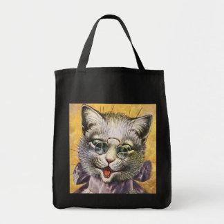 Arthur Thiele - Female Cat with Glasses Tote Bag