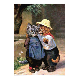 Arthur Thiele - Lovely Country Cats Card