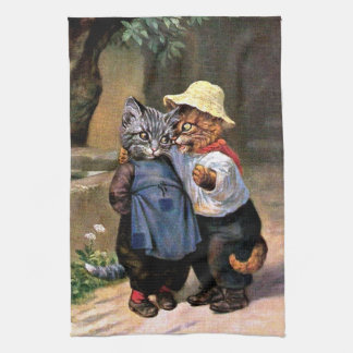 Arthur Thiele - Lovely Country Cats Hand Towels