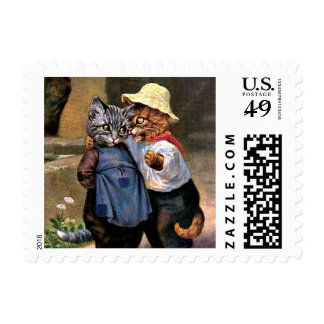 Arthur Thiele - Lovely Country Cats Postage