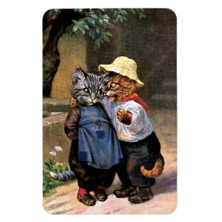 Arthur Thiele - Lovely Country Cats Rectangular Photo Magnet