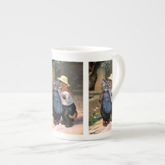 Arthur Thiele - Lovely Country Cats Tea Cup