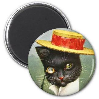 Arthur Thiele - Mr. Cat 2 Inch Round Magnet