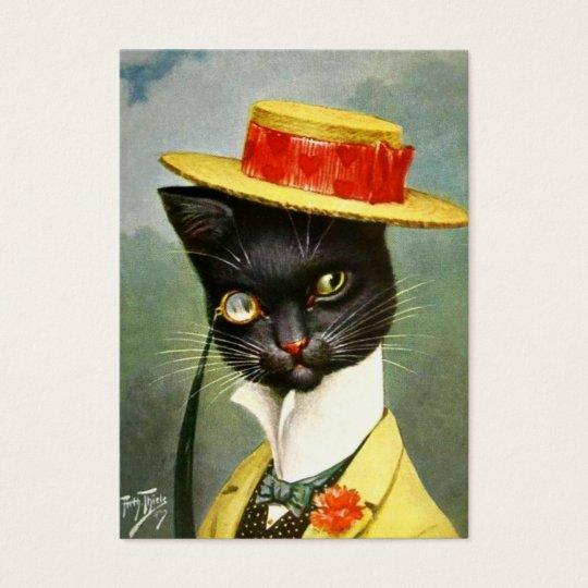 Arthur Thiele - Mr. Cat Business Card