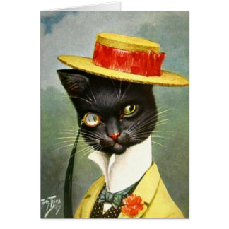Arthur Thiele - Mr. Cat Card