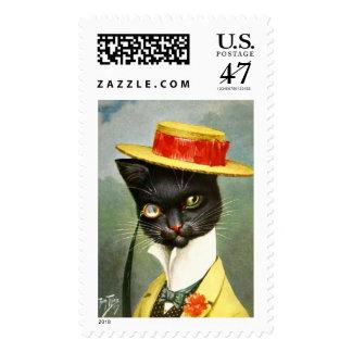 Arthur Thiele - Mr. Cat Postage
