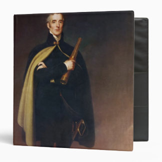 Arthur Wellesley  Duke of Wellington 3 Ring Binder
