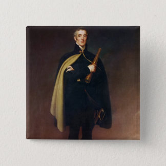 Arthur Wellesley  Duke of Wellington Button