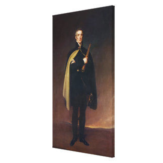 Arthur Wellesley  Duke of Wellington Canvas Print