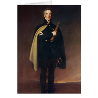 Arthur Wellesley  Duke of Wellington Card