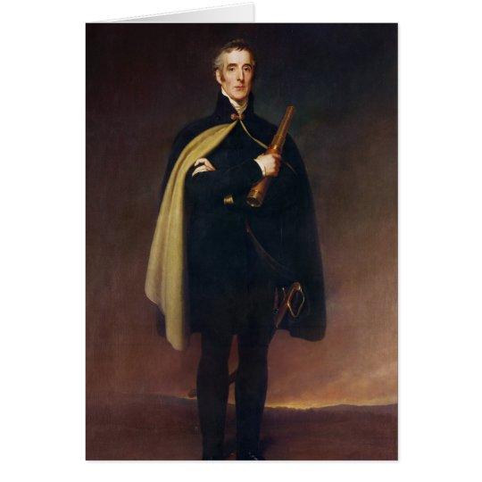 Arthur Wellesley  Duke of Wellington Card