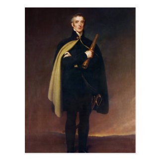 Arthur Wellesley  Duke of Wellington Postcard