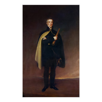 Arthur Wellesley  Duke of Wellington Poster