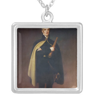 Arthur Wellesley  Duke of Wellington Silver Plated Necklace