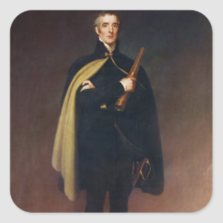 Arthur Wellesley  Duke of Wellington Square Sticker